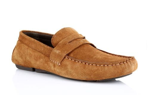 Red Tape Cranfield Tan Suede Deck Shoes